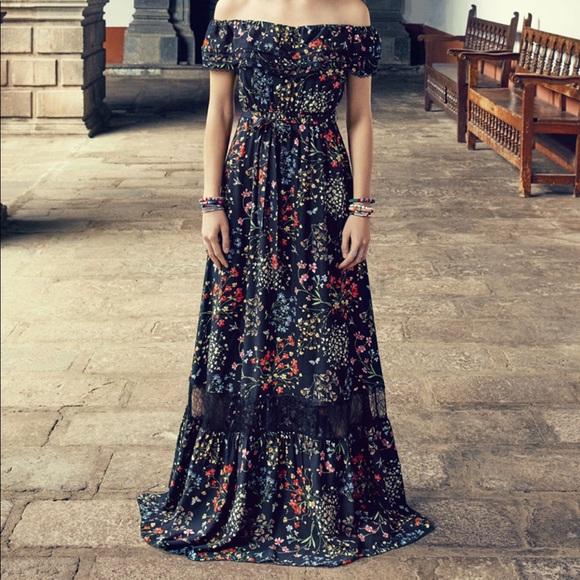 Alice + Olivia Dresses | Alice Olivia Cheri Floral Maxi Dress | Poshmark